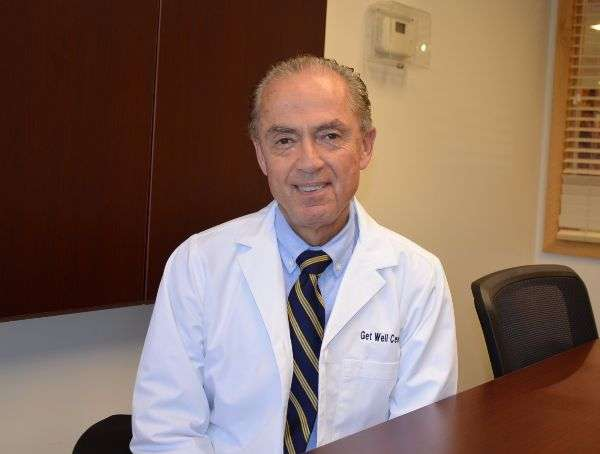 Dr. J. Penhos of the Get Well Center, alternative medicine doctor